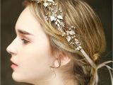 Wedding Hairstyles In Uganda Vintage Wedding Bridal Crystal Headband Ribbon Rhinestone Crown