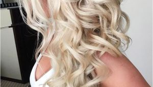 Wedding Hairstyles Long Down Curly 42 Half Up Half Down Wedding Hairstyles Ideas Wedding