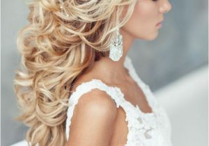 Wedding Hairstyles Long Down Curly 55 Romantic Wedding Hairstyle Ideas Having A Perfect Balance