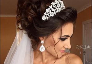Wedding Hairstyles Long Hair Down Veil Image Result for Bridal Updos with Headband and Veil