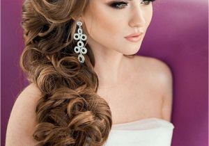 Wedding Hairstyles Long Hair to the Side Elegant Bridal Hairstyles for Long Hair 119