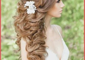 Wedding Hairstyles Long Hair to the Side Fresh Hair Side Ponytail Wedding