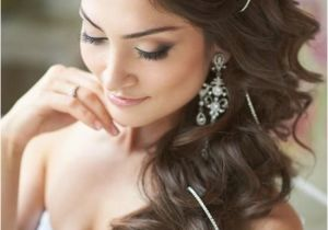 Wedding Hairstyles Long Hair to the Side Peinados De Novia Con El Pelo Suelto Ideas Boda