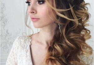 Wedding Hairstyles Long Hair to the Side Wedding Hairstyle Inspiration Hair & Beauty Pinterest