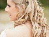 Wedding Hairstyles Medium Length Hair Half Up the Half Up Half Down Wedding Hairstyles