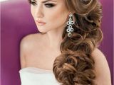 Wedding Hairstyles On the Side for Long Hair 20 Ideas Of Brides Long Hairstyles