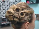 Wedding Hairstyles Pin Curls Pin Curl Updo Hair by Elise Tanglez Massill Ohio