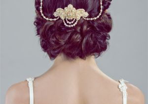 Wedding Hairstyles Princess Lucrezia Unique Bridal Headpiece Jewelry Real Freshwater Pearls