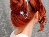 Wedding Hairstyles Red Hair Majin Blog Od Igle Do Lokomotive Hair