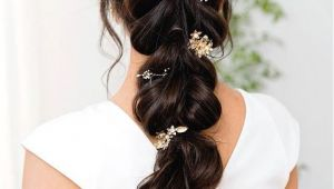 Wedding Hairstyles Rustic Rustic Vintage Diy Half Up Half Down Wedding Hairstyle for Long Hair