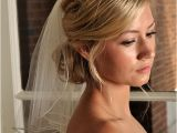 Wedding Hairstyles Short Hair with Veil Bridal Veil with Beaded Edge and Scattered Swarovski Crystals