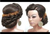 Wedding Hairstyles Tutorial Youtube Bridal Hairstyle for Long Hair Tutorial Wedding Updo Step by Step