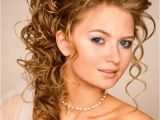 Wedding Hairstyles Updos with Curls Heavy and Curly Hairs Suits Thin Girls Hairzstyle