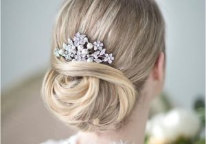 Wedding Hairstyles with Pearls Bridal Hair B Wedding Head Piece Crystal and Pearl
