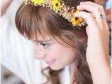 Wedding Hairstyles with Sunflowers 183 Best Wedding Hair Images