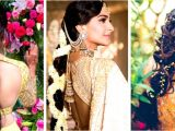 Wedding Reception Hairstyles for Indian Bride 30 Best Indian Bridal Hairstyles Trending This Wedding Season Blog
