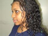Wet N Curly Hairstyles Micro Braids Hairstyles Wavy Hairstyling Update