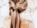 What R some Cute Hairstyles Cute Twisted Ponytail Easy Hairstyle Hair Ideas and Hairstyles