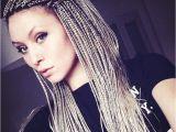 White Girl Braid Hairstyles White Girl Braids Crimp Braids Pinterest