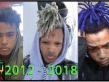 Youtube Dreadlocks Hairstyles 2019 Evolution Of Xxxtentacion Dreads 2012 2018