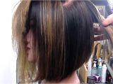Youtube Graduated Bob Haircut Long Angled Layered Haircut Long Angled Bob Haircuts My