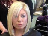 Youtube Layered Bob Haircuts Blonde Layered Bob Haircut